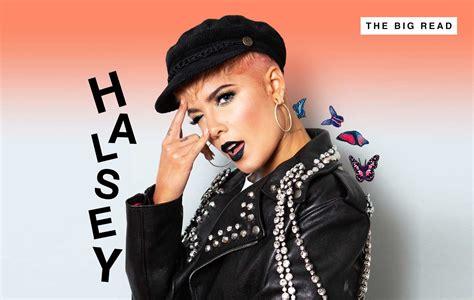 nme big read halsey exclusive interview  picures