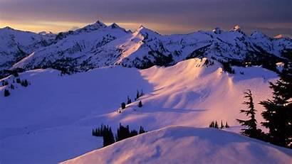 Winter Mountain Snowy Wallpapers Mountains Snow Pixelstalk