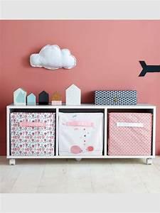 Meuble Bas Chambre : meuble bas de rangement chambre enfant gris vertbaudet ~ Teatrodelosmanantiales.com Idées de Décoration