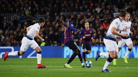 Resumen y goles del Barcelona-Tottenham de la Champions ...