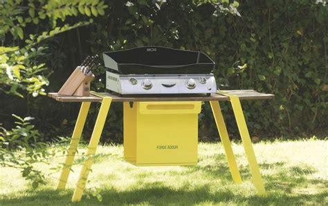 cuisiner avec barbecue a gaz 1000 idées à propos de meuble plancha sur