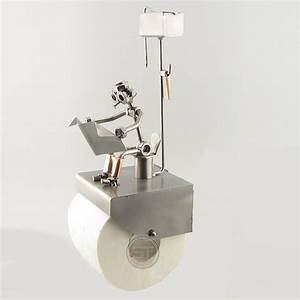 Unique Home Gifts - Toilet Paper Holder - Steelman