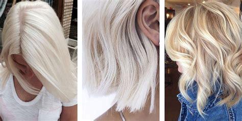 ash blonde hair   summer choice