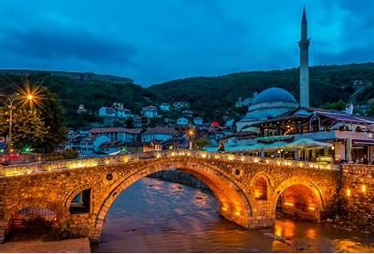 Prizren Kosovo Visit Balkans Bridge Pristina Evening
