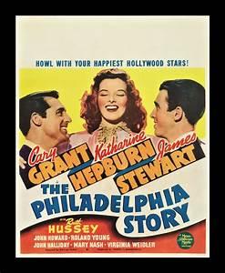 THE PHILADELPHIA STORY * CineMasterpieces ORIGINAL MOVIE ...