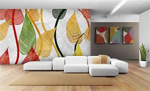 exciting wall art laser image printing marketing With decor mural grand format