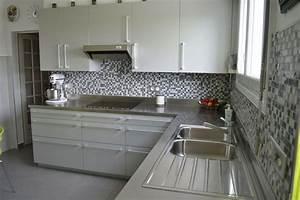 Plan travail cuisine inox homeandgarden for Plan de travail cuisine inox