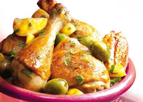 tarte au citron cuisine az poulet aux olives recette az