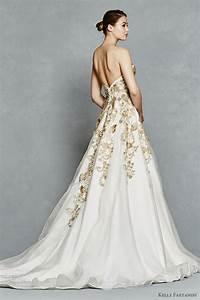 Kelly faetanini spring 2017 wedding dresses wedding for Embroidered wedding dress