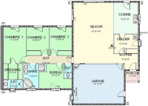 deco de chambre parentale construction 86 fr gt plan maison ossature bois plain pied