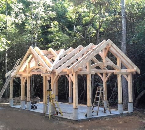 Timber Frame Barn Building Plans