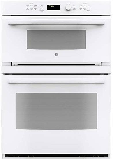 """GE 30"""" Built In Convection Microwave Wall Oven PT7800DHWW"""