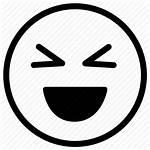 Laughing Icon Face Laugh Emoji Vectorified