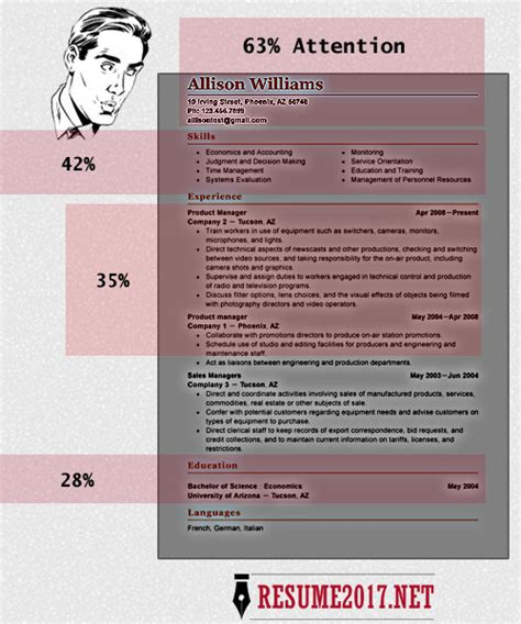 Attractive Resume Formats Word by Resume Format 2017 16 Free To Word Templates