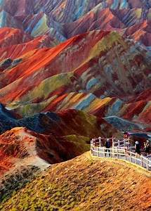 25+ best ideas about Rainbow Mountains on Pinterest | Time ...