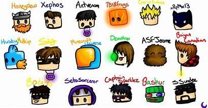 Youtubers Minecraft Youtuber Skin Wallpapers Fan Drawings