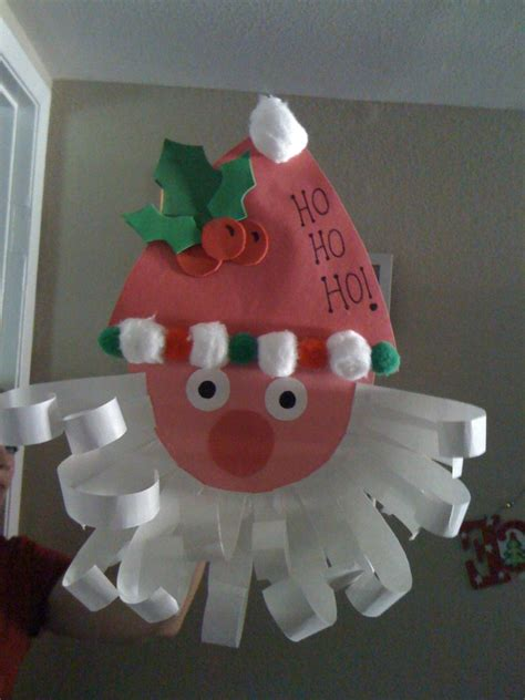 construction paper christmas crafts construction paper santa easy preschool craft easy santa craft easy craft