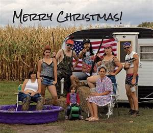 Redneck Christmas Cards - Christmas Lights Card and Decore