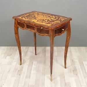 Meuble Style Louis Xv : petit bureau louis xv ecritoire meubles louis xv ~ Dallasstarsshop.com Idées de Décoration