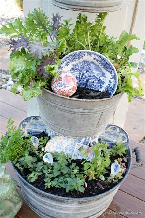 diy herb container garden mohawk homescapes mohawk
