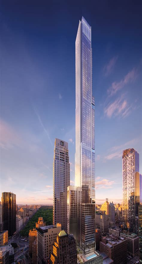 Extells Central Park Tower Approaches Topping Out In