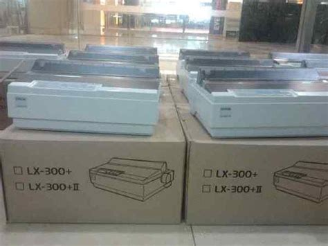 Harga Printer Dot Matrix Epson Lx 300 Ii jual beli printer epson lx 300 ii dotmatrix garansi 1