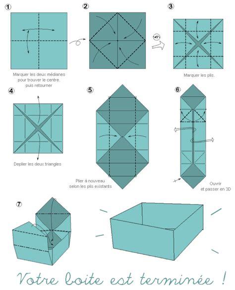 tuto origami facile tuto origami boite facile