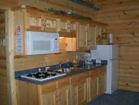 Small Log Cabin Kitchen Ideas by Small Kitchen Lake Home