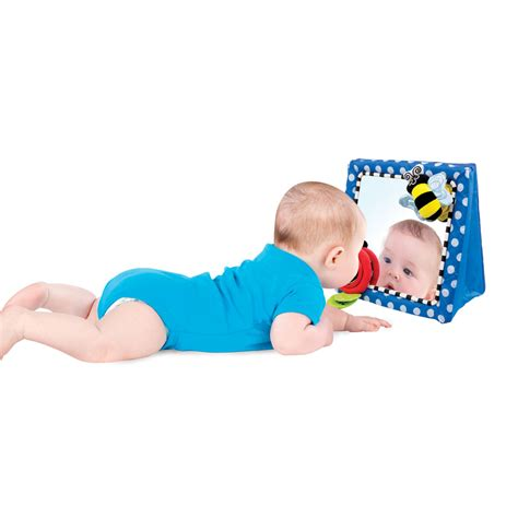 floor mirror baby floor mirror sassy developmental toys