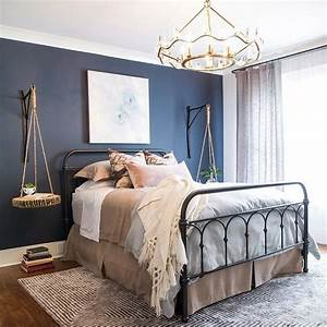 best 25 navy bedroom walls ideas on pinterest navy With stunning accent wall color ideas for bedroom
