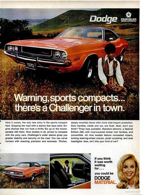 dodge  car truck lineup advertisements