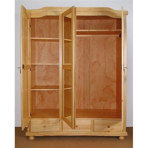armoire pas cher davos 3 portes 3 tiroirs marseille