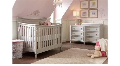 jaclyn place gray  pc nursery crib