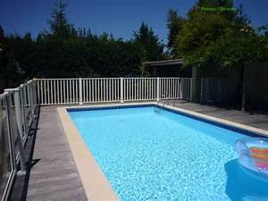 cloture bois exotique jardin With belle piscine de particulier