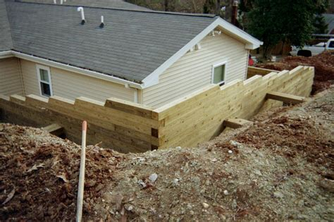 retaining wall backfill material pictures for r r home improvement va class a lic 2705 120120a in woodbridge va 22191