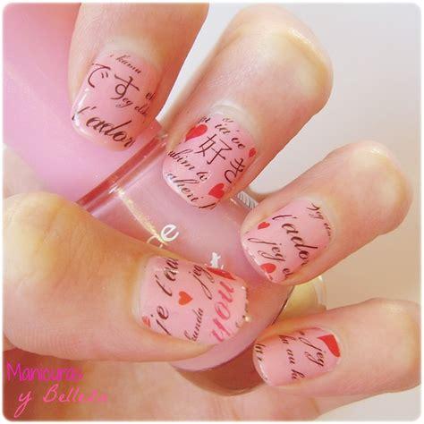 7:15 natos nails 129 041 просмотр. Manicuras y Belleza: ♥ ¡Feliz San Valentín!   Manicura para el 14 de febrero