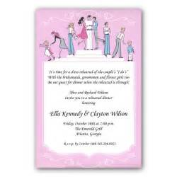 wedding rehearsal dinner invitations weiss wedding rehearsal dinner invitations paperstyle