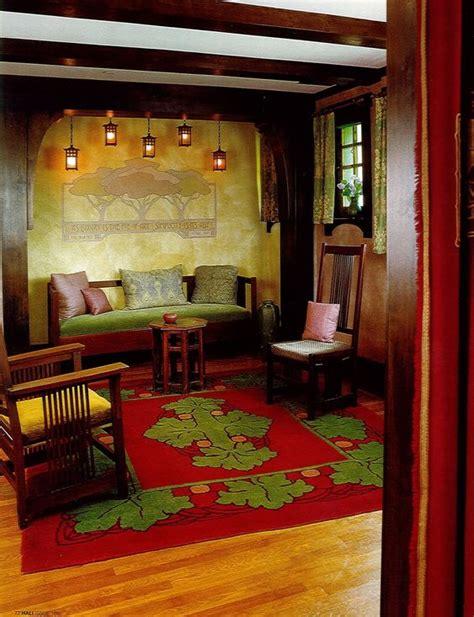 arts and crafts craftsman bungalow home interior