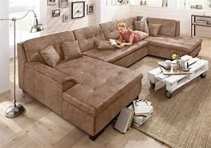 Couch U Form Xxl : xxl wohnlandschaft kaufen sofa in u form otto ~ Bigdaddyawards.com Haus und Dekorationen