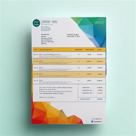 modern invoice template dascoopinfo