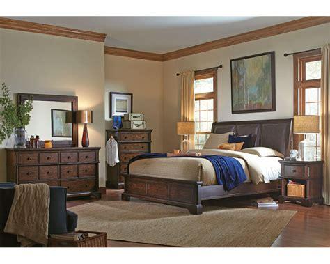 Aspen Bedroom Set by Aspenhome Bedroom Set Bancroft Asi08 422set