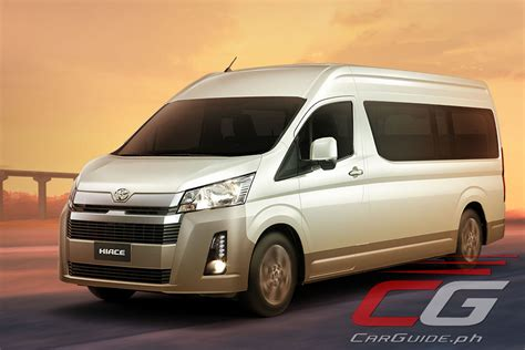toyota philippines launches    hiace