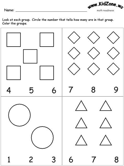 search results for math addition worksheets prek