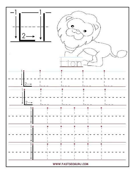 tracing letters worksheets printable printable traceable letters 25309 | printable traceable letters letter l tracing worksheets for preschool