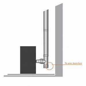Tubage Inox Double Paroi 150 : bouchon pour t double paroi pro 100 150 trachemin e ~ Premium-room.com Idées de Décoration