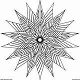 Cool Geometric Coloring Pages Shapes Designs Shape Pattern Vector Warm Colors Newdesign Overlapping Via sketch template