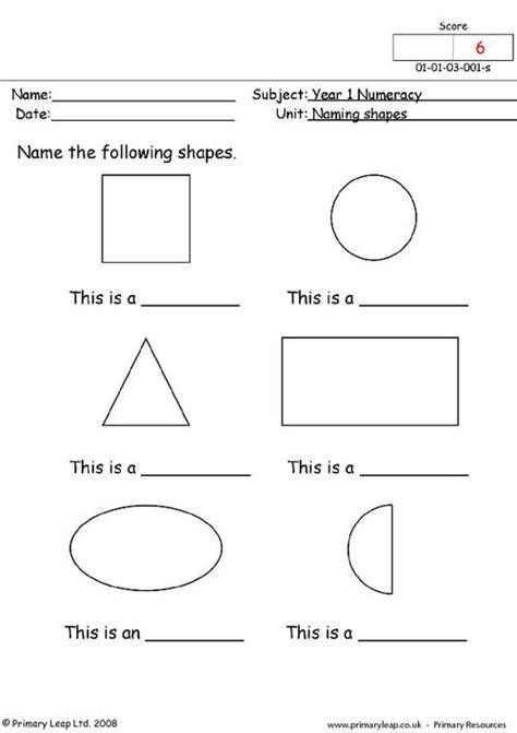worksheets on naming shapes naming shapes primaryleap co uk