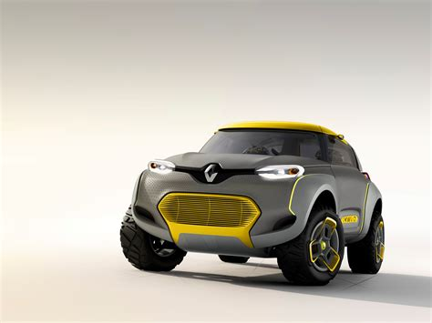 New features coming your way. Renault Kwid concept baby SUV revealed - Photos (1 of 18)