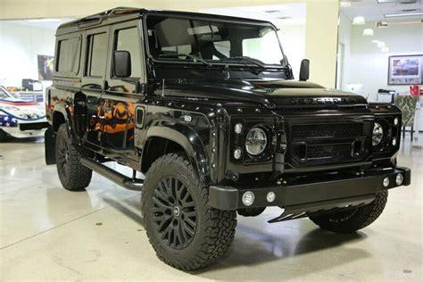Последние твиты от land rover (@landrover). 1992 Land Rover Defender 110 100 Miles Black SUV LS3 V8 6 ...