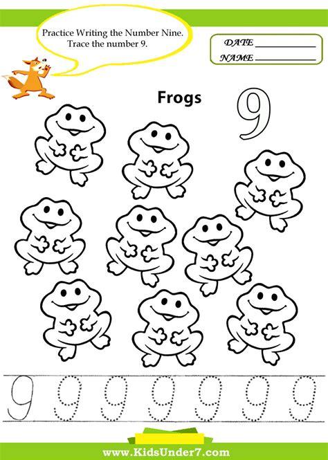 7 number tracing 1 10 worksheet part 1 195   0e74f62ab52411f40b9483ec3de3fb43